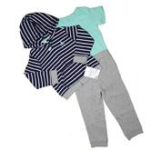 Толстовка+боди+брюки Carter's (зел.)