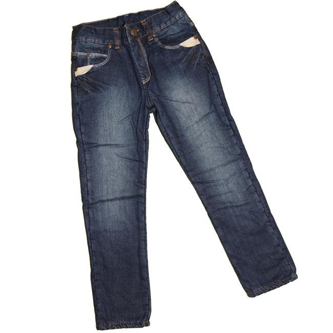 Джинсы Armani  кожаные вставки (на флисе)